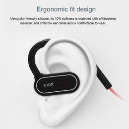 Trasduttore auricolare dell'orecchio di sport online-HOT Wireless Sport Auricolare Bluetooth Cuffia Ear Hanging Cuffie stereo binaurali con trasmissione vocale per iPhone Sumsang Huawei Xiaomi