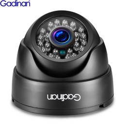 Capteurs de fonctions en Ligne-GADINAN HD 3MP SONY IMX323 Capteur 960 P 720 P Professionnel Micro Caméra IP Dôme Infrarouge POE Fonction ONVIF pour Système de CCTV DVR