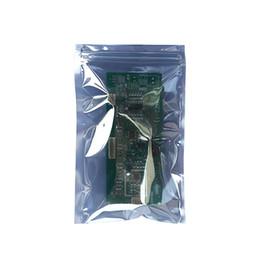 2019 productos de la foca 100 unids blindaje antiestático disco duro LED productos eléctricos bolsas de almacenamiento de embalaje zip lock seal sellado bolsa electrónica rebajas productos de la foca