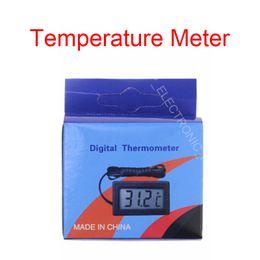 Цифровой мини-измеритель температуры датчик термометр для Аквариум Аквариум холодильник автомобиля DC1.5V крытый открытый от Поставщики спортивные наушники bluetooth