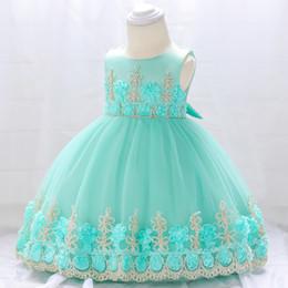 2018 NEW COLLECTION Femme bébé robe de baptême pour bébé et enfant fille appliques robe de mariée de mariage style de robe de bal style le plus chaud ? partir de fabricateur