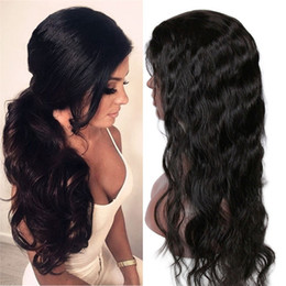Wholesale 16 Inch Body Wave Wig - Wet Wavy Human Hair Wigs For Black Women Body Wave Full Lace Wigs And Lace Front Wigs 8-30 Inch Accept Glueless Wig