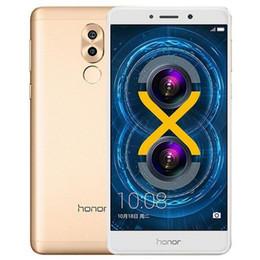 Huawei 5.5 32gb онлайн-Оригинальный восстановленный Huawei Honor 6X 5.5 inch Octa Core 3GB RAM 32GB ROM двойная задняя камера отпечатков пальцев Android мобильный телефон сообщение 1 шт.