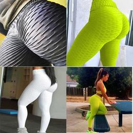 Goccioline gocce online-Leggings Leggings per donna Abbigliamento per donna Pantaloni da yoga Pantaloni Rosa Palestra Vita alta Allenamento Fitness Abbigliamento sportivo Matita Moda Estate Drop Shipping