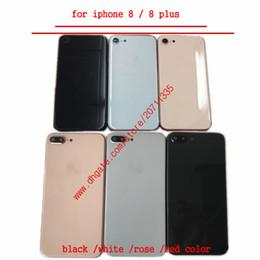 caso medio di iphone 5s Sconti Una cover posteriore di qualità per iPhone 8 8g 8 plus X Sostituzione del coperchio della porta della batteria posteriore