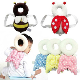 Wholesale headrest cushions - Baby Infant Walking Head Protection Pad Safety Cushion Toddler Headrest Pillow Drop Resistance Safe supplies NNA214