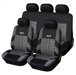 Wholesale Universal Leather Car Seat Covers - Car Seat Cover Polyester Fabric Universal Automobile Seat Covers For Car Seat Protector Car Styling Interior Accessories