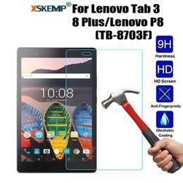 2019 lenovo antiurto XSKEMP Tablet temperato temperato antiurto per Lenovo Tab 3 8 Plus / Lenovo P8 (TB-8703F) lenovo antiurto economici