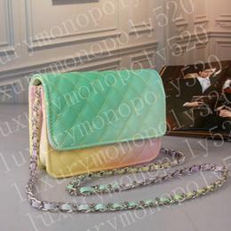 3ef1384b5 Marca de luxo de alta qualidade PU bolsa de ombro bolsa de couro da moda  designer de cor do saco do mensageiro pequeno pacote