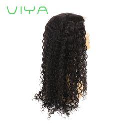 2019 echte indische haarperücken frauen 100% Jungfrau-Spitze-Front-Menschenhaar-Perücken-Baby-Haar PrePlucked natürliche Haarlinie volle Spitze-Perücken-tiefe Wellen-brasilianische Perücke für schwarze Frauen