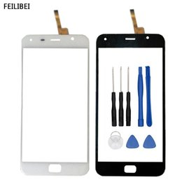 x touch mobilen zoll Rabatt 5.5 Zoll beweglicher Touch Screen für UMI Touch / X Bildschirm-Glasdigitalisierer-Platten-Frontglas-Sensor mit Werkzeugen