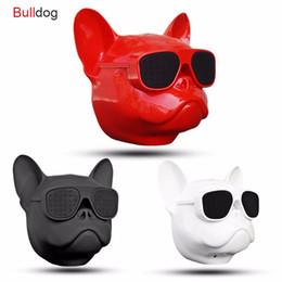 Haut-parleur tactile bluetooth portatif en Ligne-Aerobull Nano Sans Fil Haut-Parleur Bulldog Bluetooth Haut-Parleur