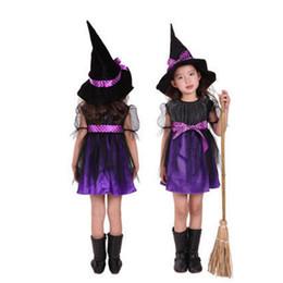 Argentina Baby Kid Halloween Performance Costume Nueva Llegada Cap Wizard Bruja Sombrero Fiesta Cosplay Apoyos Sombreros Lindos Moda Clacks Ropa Suministro