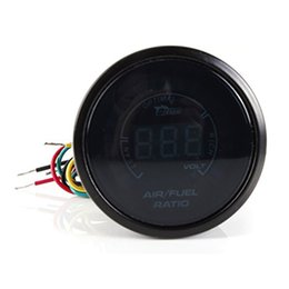Wholesale Race Car Fuel - China lens blue Suppliers BYGD 20LED 2'' 52MM Auto Car Air Fuel Ratio Gauge Motor AFR Racing Meter Monitor Blue LED Digital
