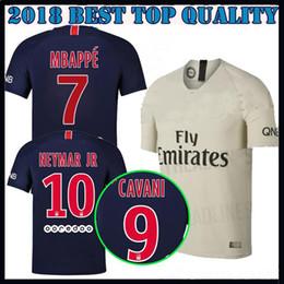 6ff955d95 18 19 mbappe 7 psg soccer jersey Paris home maillot de foot 2018 2019  CAVANI DI MARIA T SILVA VERRATTI survetement away gray football shirts