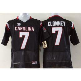 Mens South Carolina Gamecocks JaDeveon Clowney Stitched Name Number  American College Football Jersey Size S-3XL carolina gamecocks on sale eb3ff4ecc