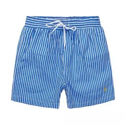 Wholesale Pants Horses - Wholesale-Summer Men Short Pants Brand Clothing Swimwear Nylon Men Brand Beach Shorts Small horse Swim Wear Board Shorts 2018