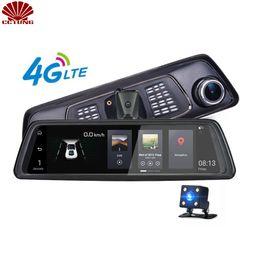 1080P 4G Android зеркало двойной камеры ремень версия с FDD LTE QUAQ группы с ADAS Google Map навигации парковка видео сигнализации от