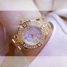 2019 женские часы с большим циферблатом 2018 Women Rhinestone Watches men Silver Lady Dress Watch  Stainless Steel Band Big Dial Bracelet Wristwatch Crystal Watch скидка женские часы с большим циферблатом