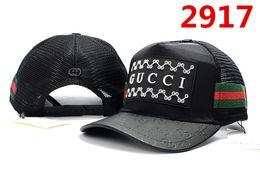 Wholesale winter visor hats - New design 100% Cotton Luxury brand Caps Embroidery hats for men Fashion snapback baseball cap women casual visor gorras bone casquette hat