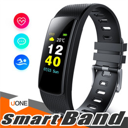 I6 armband online-i6 HRC Smart Armband Fitness Tracker Farbdisplay Fitness Uhr Activity Tracker Smart Band Herzfrequenzmesser Bluetooth Armband