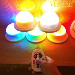 5 PCS / lot 2018 populaire rechargeable sans fil portable étanche couleur extérieure changeante led lumière d'ambiance avec télécommande ? partir de fabricateur
