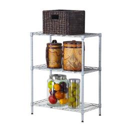 Wholesale Rack Ovens - Carbon Steel Microwave Oven Shelf Detachable Rack Kitchen Tableware Shelves