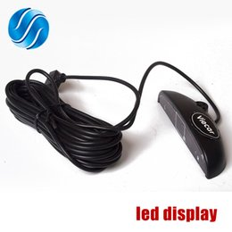 Wholesale free system monitoring - Viecar LED Display for Car Parking Sensor Kit Backlight Reverse Backup Monitor System 12V Free Shipping