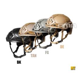 2019 casco del ejército del airsoft 2018 [Nuevo listado] FMA casco táctico MT MH airsoft deportes Montañismo wargame EE. UU. Sello casco