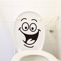sticker toilet wall waterproof Promo Codes - big mouth toilet stickers wall decorations 342. diy vinyl adesivos de paredes home decal mual art waterproof posters paper 7.0