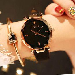 Wholesale Diamond Alloy Watch - 2018 Watch Women Exquisite Top Luxury Diamond Quartz Ladies Watch Fashion Leather Wristwatch Women watches saat relogio feminino