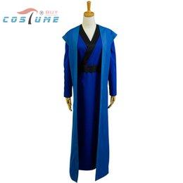 Wholesale Kimono Cosplay Female - Akatsuki no Yona Hak Uniform Outfit Kimono Robe Cloak For Men Anime Halloween Cosplay Costume Custom Made New Arrival