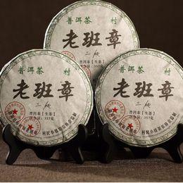 weight loss foods Australia - 2012 raw pu er tea cake green food Yunnan menghai puer tea 357g chinese sheng cha puerh tea for weight loss health care