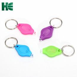 Deutschland Mini-LED-Schlüsselanhänger mit ABS-Kunststoff-Werbegeschenk / kleiner Taschenlampen-Schlüsselanhänger Versorgung