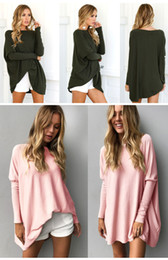 c19dc0bddf2 10 colors women casual loose batwing long sleeve tops winter knitting  sweaters long sweater outwear lady clothing