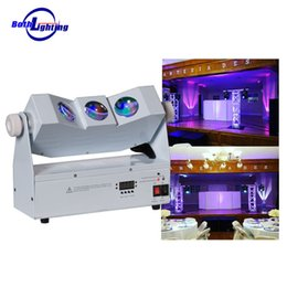 Wholesale Pro Stage Lighting - LED Stage Pro Lighting Wireless dmx battery powered uplights Tri Beam 3x10W RGBA 4in1 wall washer light