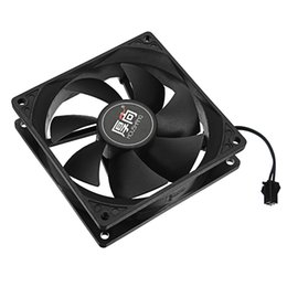 Wholesale Dc Heat - PC Power Cooling Fan 90mm CPU Cooler Fan 12V DC 0.45A Silent Radiator Heat Sinks Fans Black Cooling for Computer Case