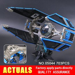 Wholesale Tied Models - 703pcs Lepin 05044 Stunning Model Limited Edition The TIE Interceptor Building Blocks Bricks Toys 7181 Boys Gifts