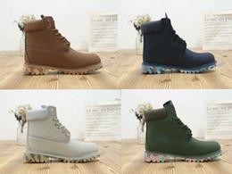 Camuflaje único tobillo casual Hombres de invierno zapatos impermeables al  aire libre mens marca de cuero genuino Martin arranque botas de nieve botas  de ... 80fefc908710