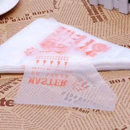 tamanhos de ponta de bolo Desconto Novo 100 Unidades / pacote Pequeno Tamanho Descartável Piping Bag Confeiteiro Fondant Bolo Creme de Decoração Ferramenta de Pastelaria Dica transporte Da Gota