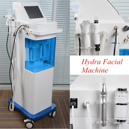 Wholesale Microcurrent Facial Machines - Dermabrasion aqua Multifunctional Microcurrent Bio Facial Lifting Dermabrasion Ultrasonic Hydra facial Water Aqua Skin Rejuvenation Machines