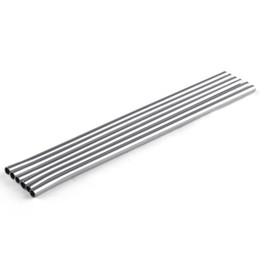 Wholesale Wholesale Straw - 20 oz Durable Stainless Steel Straight Drinking Straw Straws Metal Bar Family kitchen