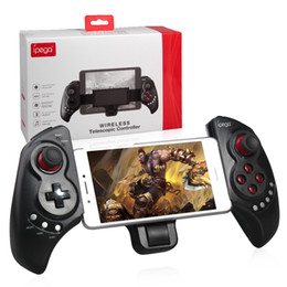 ipega bluetooth controller joystick Promo Codes - iPEGA PG-9023 Joystick For Phone PG 9023 Wireless Bluetooth Gamepad Android Telescopic Game Controller pad Android IOS Tablet PC 1pc lot