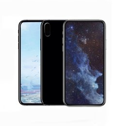 Wholesale Face India - Goophone X Real Face ID 5.5 Inch Support Wireless charge Smartphone Quad Core MTK6580 1G+8GB 16GB Mobile Phone 4g unlocked Cellphone