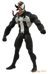 Wholesale Movies Sex Dolls - anime sex doll The Avenger Venom Action Toys 6 inch painted Venom Edward Brock figure Dolls Brinquedos Anime