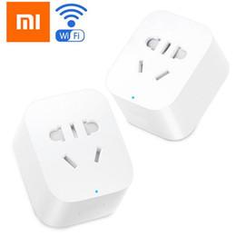 Xiaomi MiJia Mi Smart Power Socket Plug Básico WiFi WiFi APP Control remoto Temporizador Interruptor Powercube EU DE Adaptador desde fabricantes