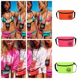 Wholesale Fashion Waist Packs - Pink Beach Travel Waist Bag Pack Fanny Cross Body Bag 25 Styles Fashion Beach Travel Bags Handbags Purses Outdoor Bags OOA5097
