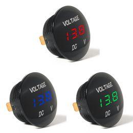 medidor de circuito Rebajas Waterprof Car LED 12-24 V Corto Circuito de Batería Protectora Monitor Termómetro de Medidor de Voltaje de Pantalla Digital Exacta Venta Caliente