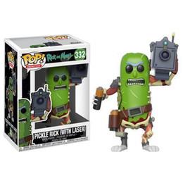 Argentina Funko Pop Rick Morty - Pickle Rick Vinyl Figura de acción con caja # 332 Juguete de regalo de buena calidad Suministro