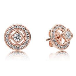 9694bdc90b5f2 Wholesale Vintage Rose Stud Earrings - Buy Cheap Vintage Rose Stud ...
